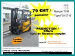 chariot élévateur TCM - chariots elevateurs